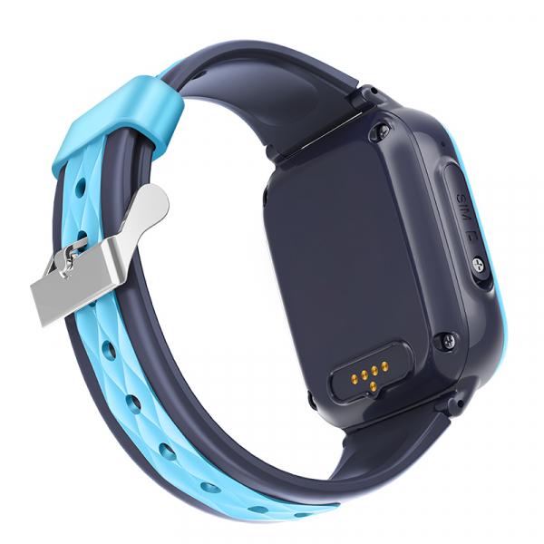 Ceas Inteligent cu GPS pentru copii WONLEX KT15 4G Albastru, apelare video, rezistent la apa, localizare WiFI si monitorizare spion 6