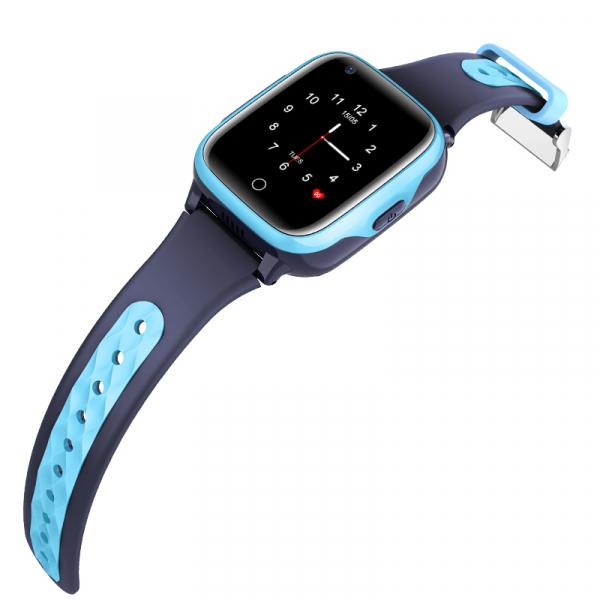 Ceas Inteligent cu GPS pentru copii WONLEX KT15 4G Albastru, apelare video, rezistent la apa, localizare WiFI si monitorizare spion 3