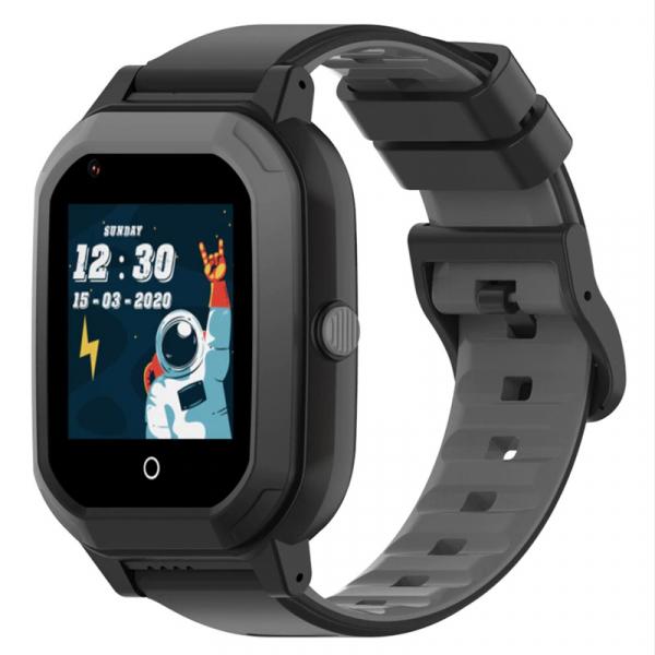 Ceas Inteligent cu GPS pentru copii WONLEX KT20 4G Negru, apelare video, rezistent la apa, localizare WiFI si monitorizare spion 3