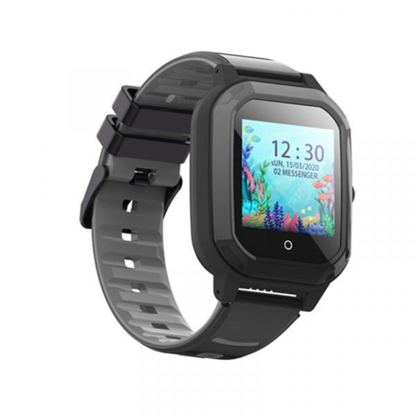 Ceas Inteligent cu GPS pentru copii WONLEX KT20 4G Negru, apelare video, rezistent la apa, localizare WiFI si monitorizare spion 2