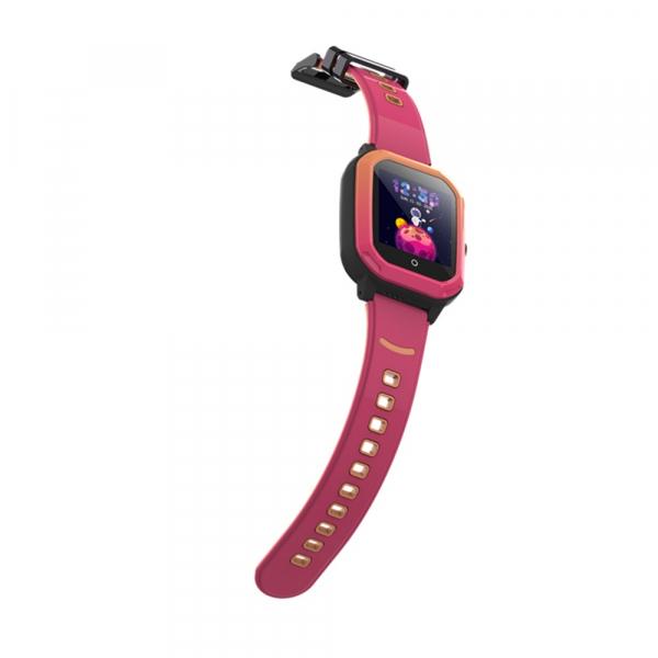 Ceas Inteligent cu GPS pentru copii WONLEX KT20 4G Roz, apelare video, rezistent la apa, localizare WiFI si monitorizare spion 5