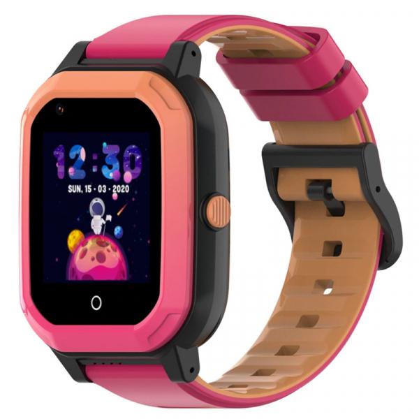 Ceas Inteligent cu GPS pentru copii WONLEX KT20 4G Roz, apelare video, rezistent la apa, localizare WiFI si monitorizare spion 3