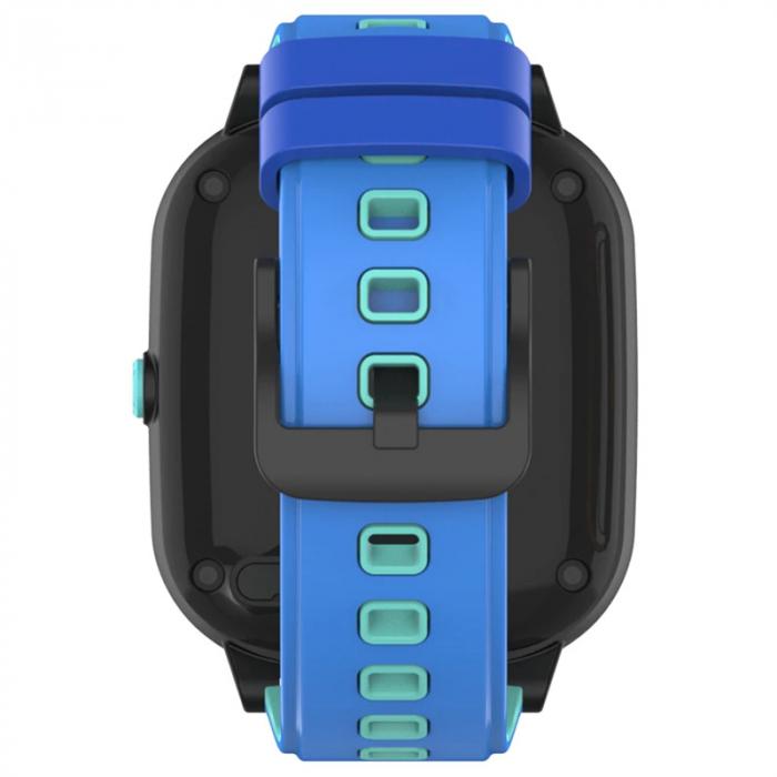 Ceas Inteligent cu GPS pentru copii WONLEX KT20 4G Albastru, apelare video, rezistent la apa, localizare WiFI si monitorizare spion [3]