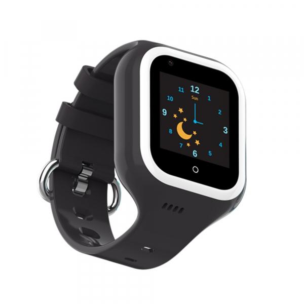 Ceas Inteligent cu GPS pentru copii WONLEX KT21 4G Negru, apelare video, rezistent la apa, localizare WiFI si monitorizare spion 6