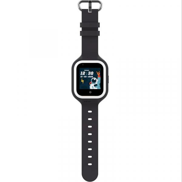 Ceas Inteligent cu GPS pentru copii WONLEX KT21 4G Negru, apelare video, rezistent la apa, localizare WiFI si monitorizare spion 4