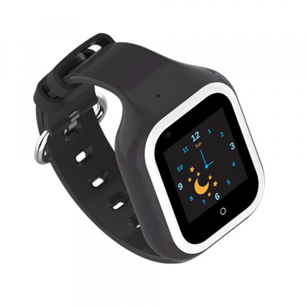 Ceas Inteligent cu GPS pentru copii WONLEX KT21 4G Negru, apelare video, rezistent la apa, localizare WiFI si monitorizare spion 5