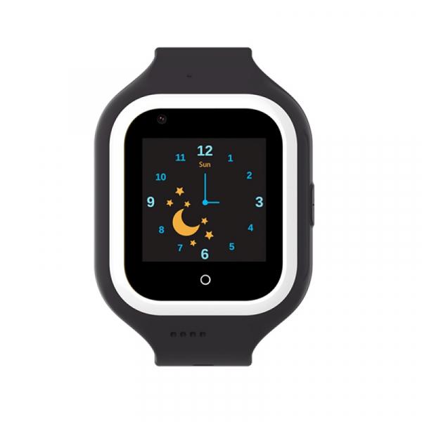 Ceas Inteligent cu GPS pentru copii WONLEX KT21 4G Negru, apelare video, rezistent la apa, localizare WiFI si monitorizare spion 1