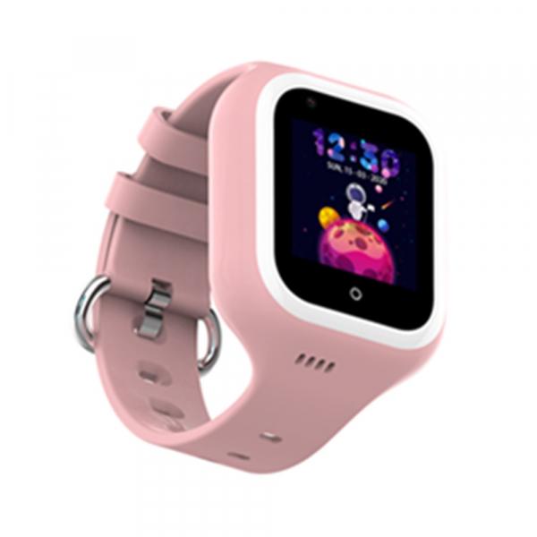Ceas Inteligent cu GPS pentru copii WONLEX KT21 4G Roz, apelare video, rezistent la apa, localizare WiFI si monitorizare spion [2]