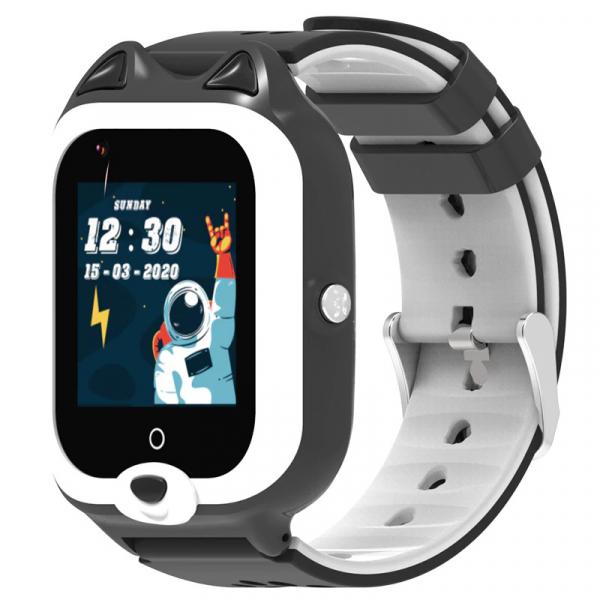 Ceas Inteligent cu GPS pentru copii WONLEX KT22 4G Negru, apelare video, rezistent la apa, localizare WiFI si monitorizare spion 5