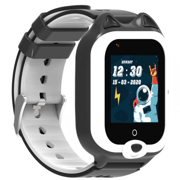 Ceas Inteligent cu GPS pentru copii WONLEX KT22 4G Negru, apelare video, rezistent la apa, localizare WiFI si monitorizare spion 3