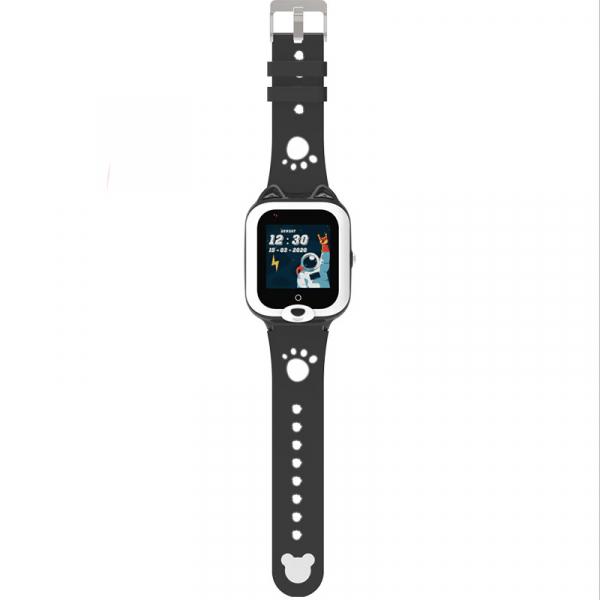 Ceas Inteligent cu GPS pentru copii WONLEX KT22 4G Negru, apelare video, rezistent la apa, localizare WiFI si monitorizare spion 1