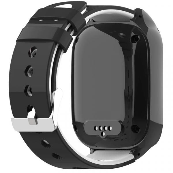 Ceas Inteligent cu GPS pentru copii WONLEX KT22 4G Negru, apelare video, rezistent la apa, localizare WiFI si monitorizare spion 7