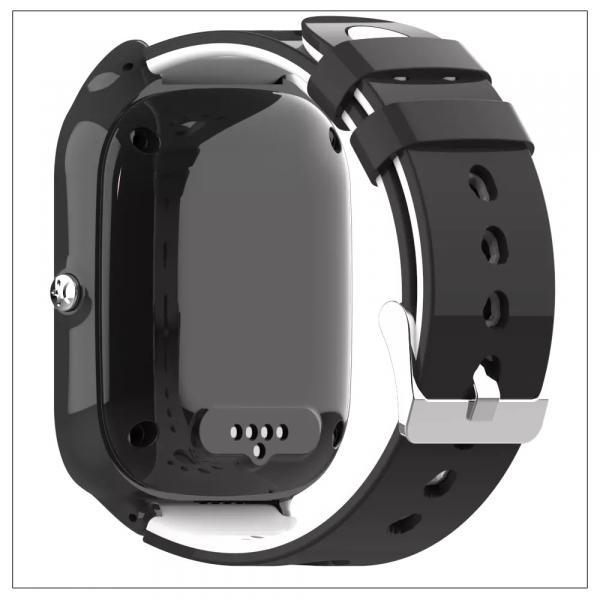 Ceas Inteligent cu GPS pentru copii WONLEX KT22 4G Negru, apelare video, rezistent la apa, localizare WiFI si monitorizare spion 6