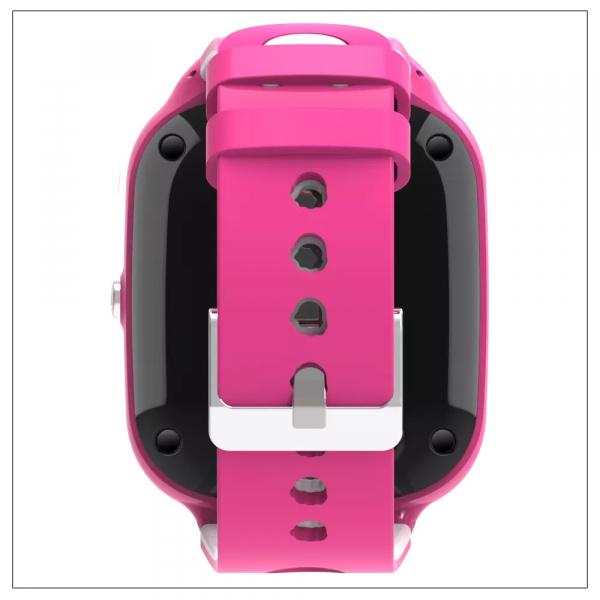 Ceas Inteligent cu GPS pentru copii WONLEX KT22 4G Roz, apelare video, rezistent la apa, localizare WiFI si monitorizare spion 1