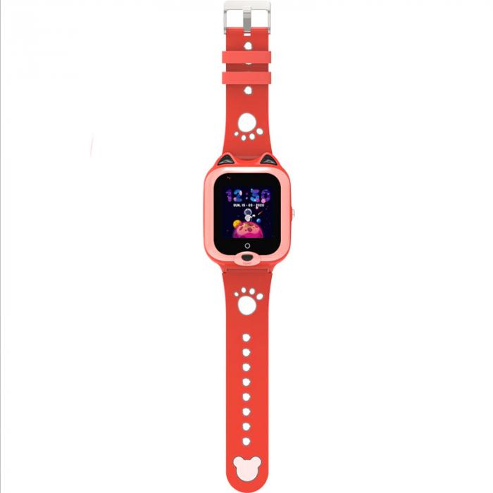 Ceas Inteligent cu GPS pentru copii WONLEX KT22 4G Portocaliu, apelare video, rezistent la apa, localizare WiFI si monitorizare spion [1]