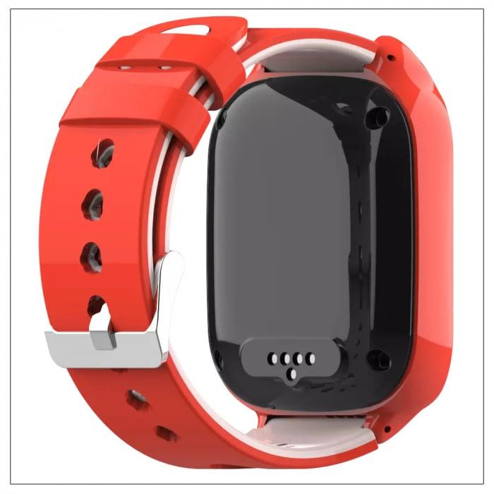 Ceas Inteligent cu GPS pentru copii WONLEX KT22 4G Portocaliu, apelare video, rezistent la apa, localizare WiFI si monitorizare spion [3]