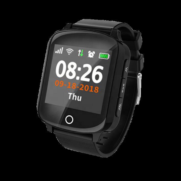 Ceas inteligent pentru copii cu telefon si localizare GPS EW 200S Negru 1
