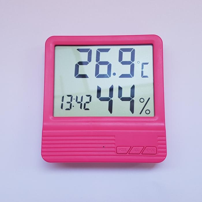 Termometru Camera Copii Roz 4