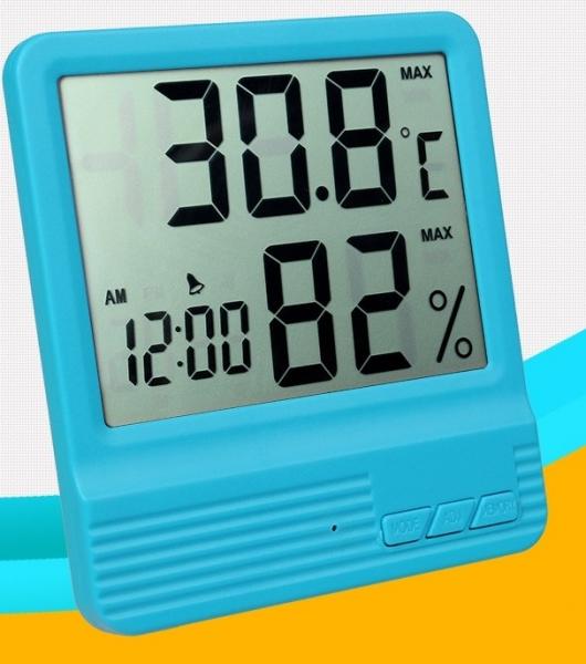 Termometru Camera Copii Bleu [3]