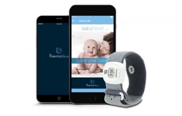 Termometru Inteligent cu Bluetooth BabyFever 1