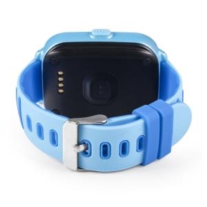 Ceas Inteligent pentru copii WONLEX KT02 3G Albastru,  cu GPS, rezistent la apa, localizare WiFI si monitorizare spion3