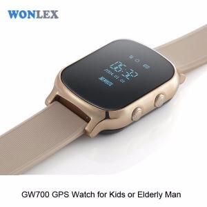 Ceas inteligent pentru copii WONLEX GW700 Gold (Auriu) cu GPS, telefon, localizare WiFi si monitorizare spion1