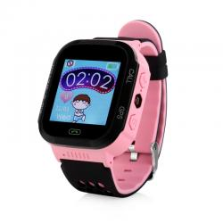 Ceas inteligent pentru copii WONLEX GW500S Roz cu GPS, telefon si monitorizare spion0