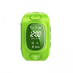 Ceas inteligent pentru copii GW300 Verde cu telefon, localizare GPS&WiFi si monitorizare spion0
