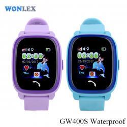 Ceas inteligent pentru copii WONLEX GW400S Albastru cu GPS, rezistent la apa, localizare WiFI si monitorizare spion5