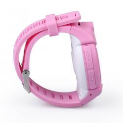 Ceas inteligent pentru copii WONLEX GW600 Roz cu GPS, telefon, localizare WiFi, ecran touchscreen color, monitorizare spion4