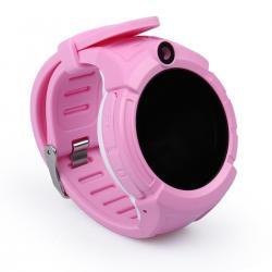 Ceas inteligent pentru copii WONLEX GW600 Roz cu GPS, telefon, localizare WiFi, ecran touchscreen color, monitorizare spion3