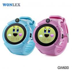 Ceas inteligent pentru copii WONLEX GW600 Roz cu GPS, telefon, localizare WiFi, ecran touchscreen color, monitorizare spion7