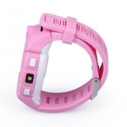 Ceas inteligent pentru copii WONLEX GW600 Roz cu GPS, telefon, localizare WiFi, ecran touchscreen color, monitorizare spion5