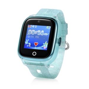 Ceas inteligent pentru copii WONLEX KT01 Verde cu GPS, camera foto, localizare WiFi, rezistent la apa, monitorizare spion0