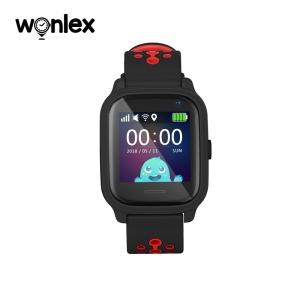 Ceas Inteligent pentru copii WONLEX KT04 Negru, cu GPS, rezistent la apa, localizare WiFI si monitorizare spion0