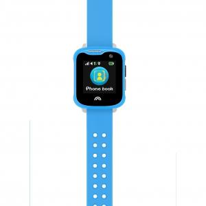 Ceas Inteligent pentru copii WONLEX KT05 Albastru, cu GPS, rezistent la apa, localizare WiFI si monitorizare spion1