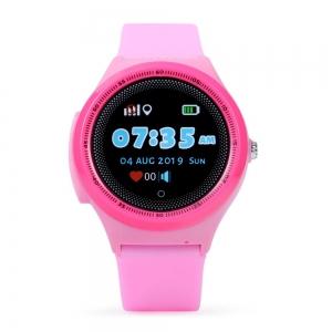 Ceas Inteligent pentru copii WONLEX KT06 Roz, cu GPS, rezistent la apa, localizare WiFI si monitorizare spion2