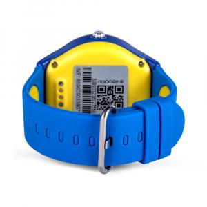 Ceas Inteligent pentru copii WONLEX KT06 Albastru, cu GPS, rezistent la apa, localizare WiFI si monitorizare spion1
