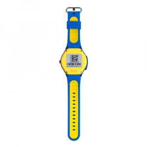 Ceas Inteligent pentru copii WONLEX KT06 Albastru, cu GPS, rezistent la apa, localizare WiFI si monitorizare spion3