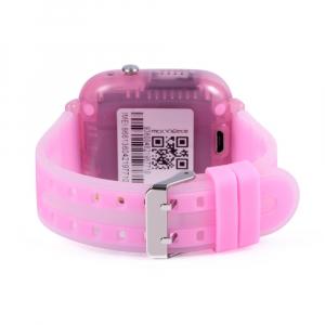 Ceas Inteligent cu GPS pentru copii WONLEX KT07 Roz, rezistent la apa, localizare WiFI si monitorizare spion [4]