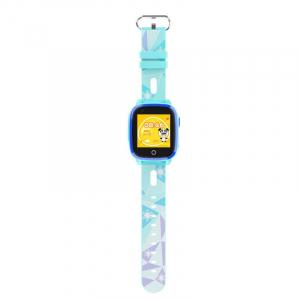 Ceas Inteligent pentru copii WONLEX KT10 4G Albastru, cu GPS, apelare video, rezistent la apa, localizare WiFI si monitorizare spion0
