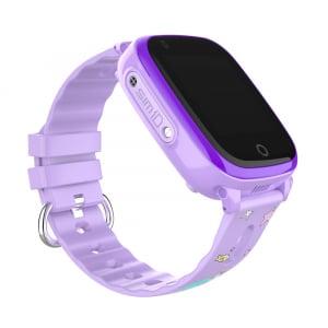 Ceas Inteligent pentru copii WONLEX KT10 4G Mov, cu GPS, apelare video, rezistent la apa, localizare WiFI si monitorizare spion1