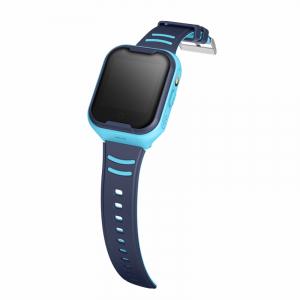 Ceas Inteligent pentru copii WONLEX KT11 4G Albastru, cu GPS, apelare video, rezistent la apa, localizare WiFI si monitorizare spion1
