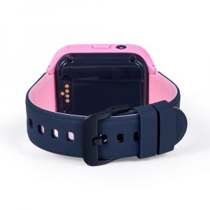 Ceas Inteligent cu GPS pentru copii WONLEX KT11 4G Roz, apelare video, rezistent la apa, localizare WiFI si monitorizare spion [3]