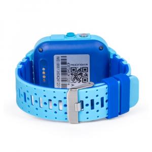 Ceas Inteligent cu GPS pentru copii WONLEX KT12 4G Albastru, apelare video, rezistent la apa, localizare WiFI si monitorizare spion [6]