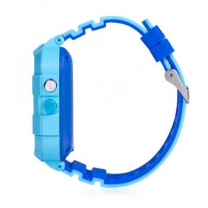 Ceas Inteligent cu GPS pentru copii WONLEX KT12 4G Albastru, apelare video, rezistent la apa, localizare WiFI si monitorizare spion [5]