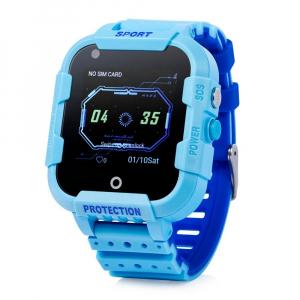 Ceas Inteligent cu GPS pentru copii WONLEX KT12 4G Albastru, apelare video, rezistent la apa, localizare WiFI si monitorizare spion [2]