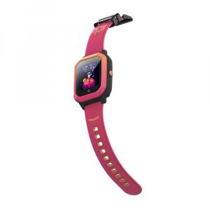 Ceas Inteligent pentru copii WONLEX KT20 4G Roz, cu GPS, apelare video, rezistent la apa, localizare WiFI si monitorizare spion4