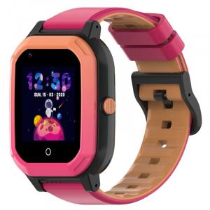 Ceas Inteligent pentru copii WONLEX KT20 4G Roz, cu GPS, apelare video, rezistent la apa, localizare WiFI si monitorizare spion3