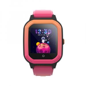 Ceas Inteligent pentru copii WONLEX KT20 4G Roz, cu GPS, apelare video, rezistent la apa, localizare WiFI si monitorizare spion0
